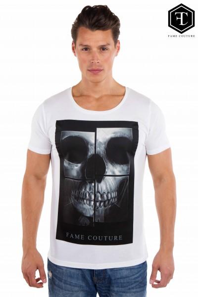 Shirt Black Skull