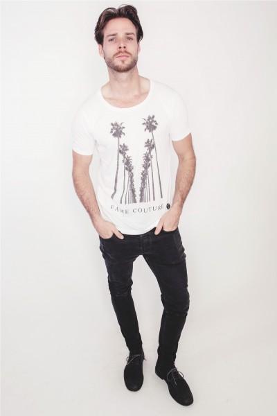 Shirt Silver Palm